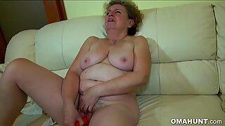 Granny Love Threesome Sex