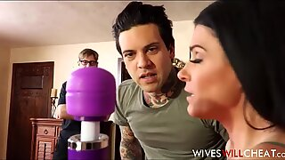 Hot Brunette MILF Stepmom India Summer Caught Cheating On Husband With Their Son