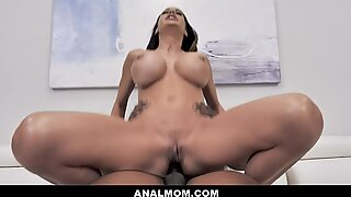 ANALMOM - Cougar Anal Fucked By her Big Black Cock Boss