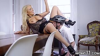 Step mom over sink xxx Having Her Way With A Rookie