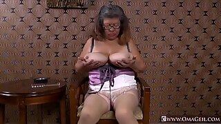 OmaGeiL Mature Latinas Striptease and Closeup