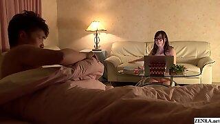 JAV comedy drama nudist Kurea Hasumi erotic author Subtitled