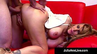 Hot For Teacher! Busty Professor Pussy Julia Ann Fucks Her Young Pupil!
