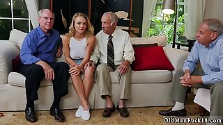 Mustache daddy fucks woman and old granny Molly Earns Her Keep - Mae White