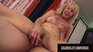 Golden Slut - Blonde Grannies Riding Cocks Like Perfect Sluts Compilation