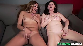 Karla and Tilda Hot Old Young Lesbians