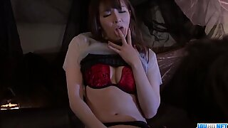 Miku Ohashi feels great with toys and cocks - More at JavHD.net