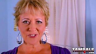 Sexy Granny Loves Dirty Talking While Masturbating