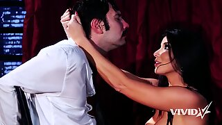Hot Swinger Romi Rain Strips And Blows Her Client