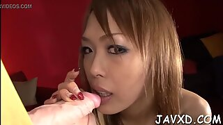 Oriental beauties do porn