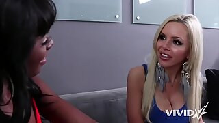 Nina Elle interviews Ana Foxxx for a job