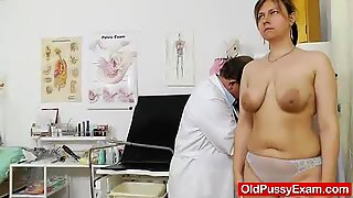 Iva on the old pussy examination