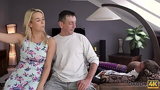 DADDY4K. Don't tell her bf that she romped his parent