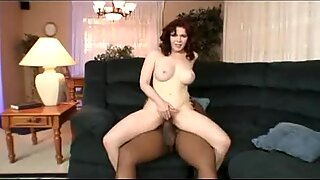 Mae Victoria spreads her hairy pussy wide open to get fucked hard