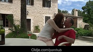 gigantic old dick satiate a wild young girl