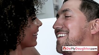 Light skinned chicks get drilled by their horny daddies