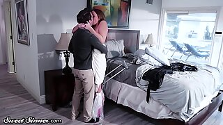 Stepmom needs to get her bush penetrated with skill Report this video
