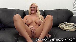 Hit Big Tit MILF Creampie Casting