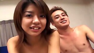 Titless chick Yuu Chigasaki desires to have a casual sex