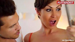LETSDOEIT - Kinky Step Mom Shows Teen Couple How to Enjoy Sex