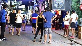 Pattaya ambling Street Nightlife 2019 (Thai girls)