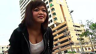 A damn superb busty Thai female