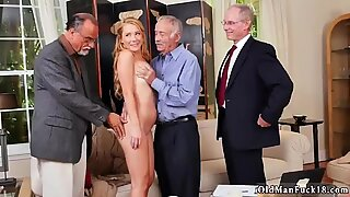 Granny big tits anal xxx Frannkie And The Gang Tag Team A Door To Door Saleswoman - Raylin Ann